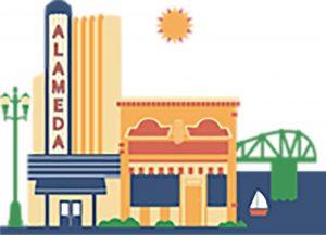 Downtown Alameda logo