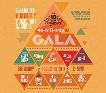 #Rhythmix10:  10th Anniversary Gala / Fundraiser