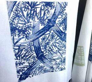 Katagami fabric