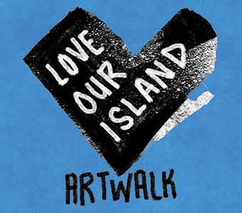 #LoveOurIsland Art Walk: Radical Beauty, Part 1