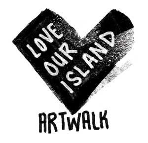 Love Our Island Artwalk Logo