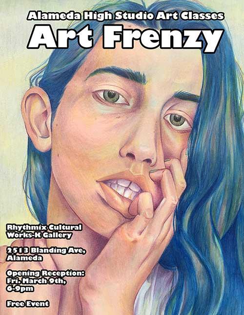 Molly Anderson Art Frenzy flyer